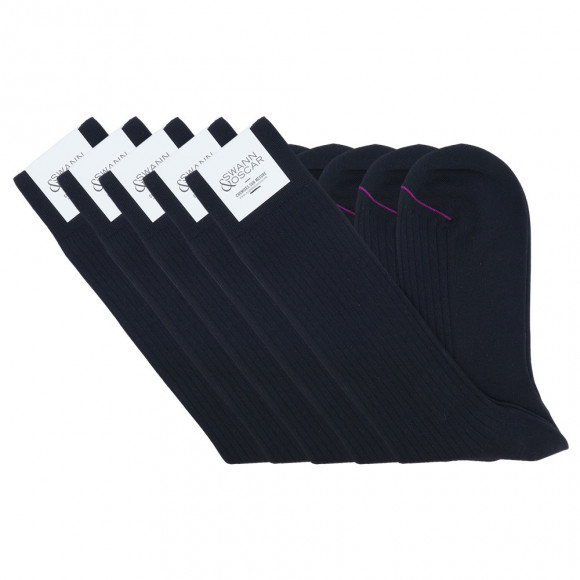 Black Pack Socks (Low)