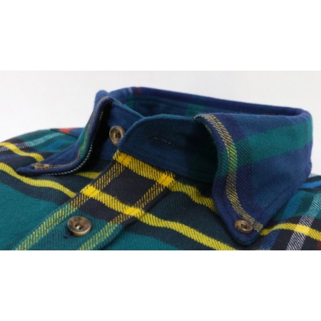 Blue Red Tartan Shirt