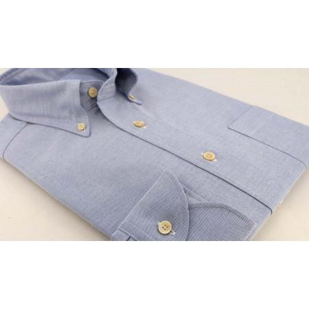 Blue Oxford College Shirt