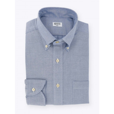 Blue Oxford College Shirt