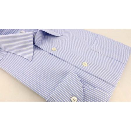Shirt Blue Stripes Oxford