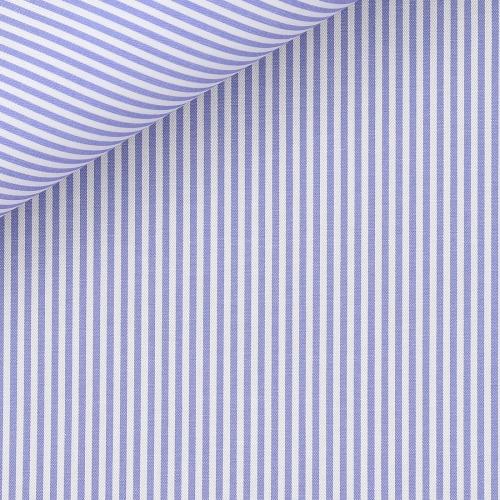 Twill Stripes Blue
