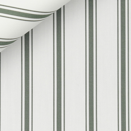 Poplin Stripes Green