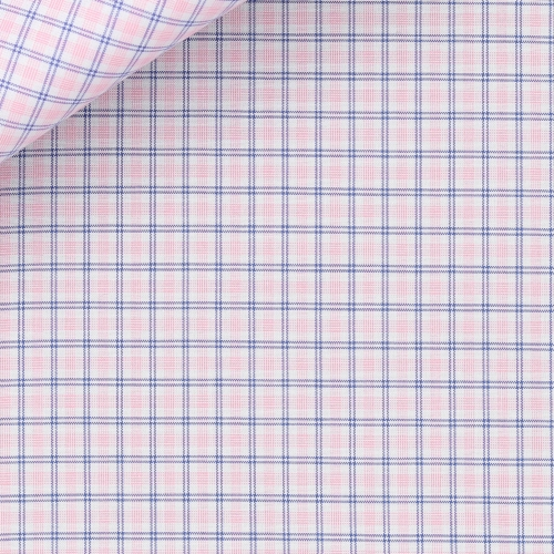 Pink Check Pattern Zephir