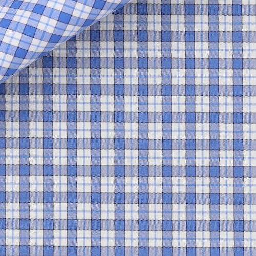 Blue Check Pattern Zephir