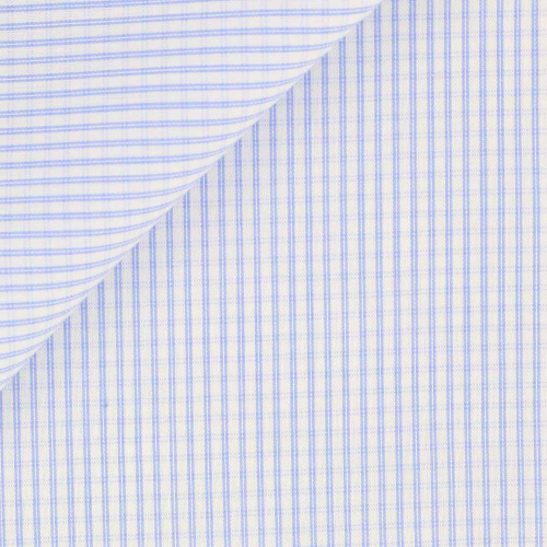 Poplin Check Pattern Blue