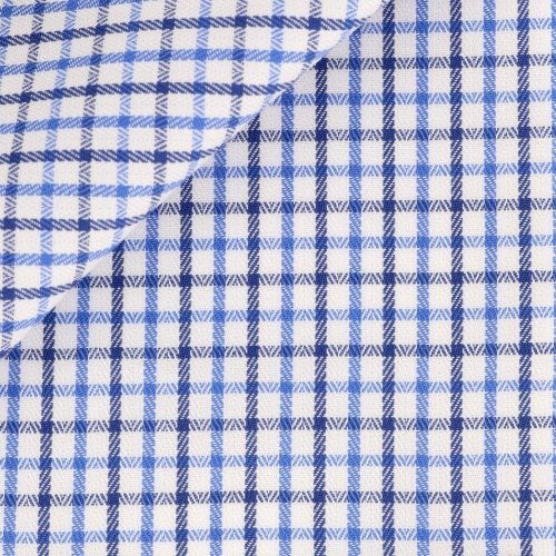 Herringbone Check Pattern Blue