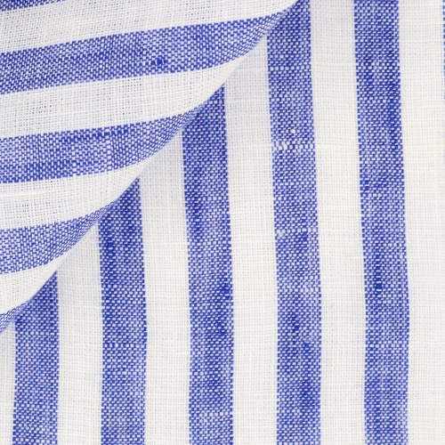Linen Stripes Blue