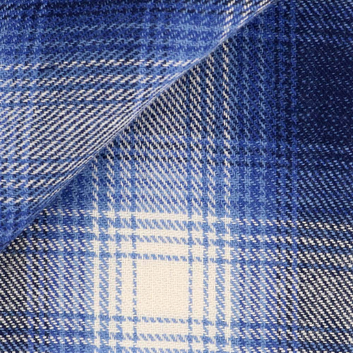 Flannel Check Pattern Blue