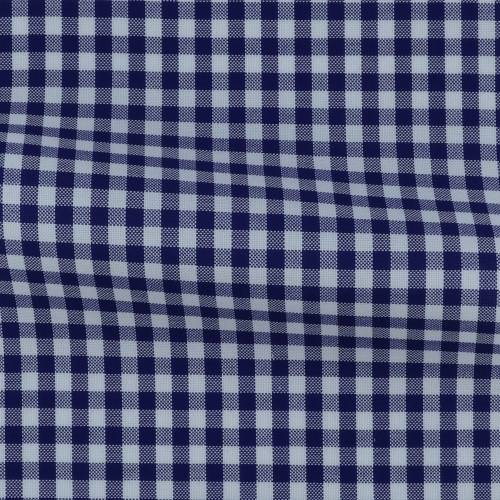 Oxford Check Pattern Blue