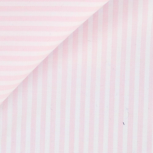 Twill Stripes Pink