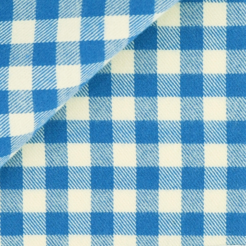Blue Check Pattern Flannel