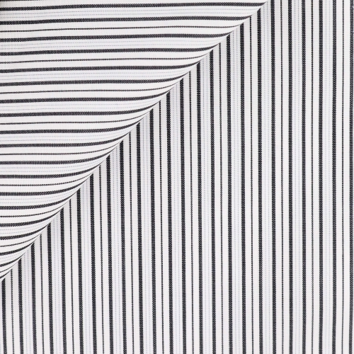 Black Stripes Poplin