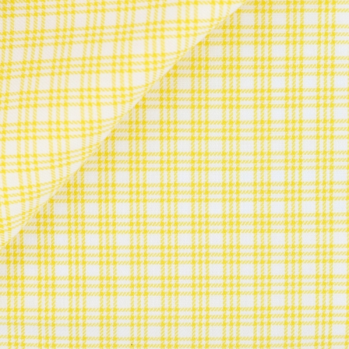 Twill Check Pattern Yellow