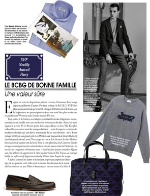 Article Paris Capitale - Made-to-measure shirt's Gift Box Swann and Oscar