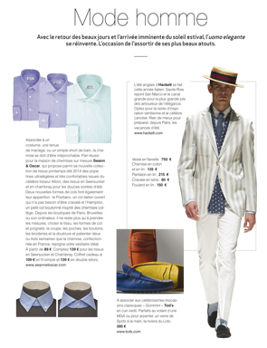Article Décideurs - Styles and shirts