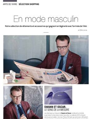 Article Décideurs - Men's Fashion