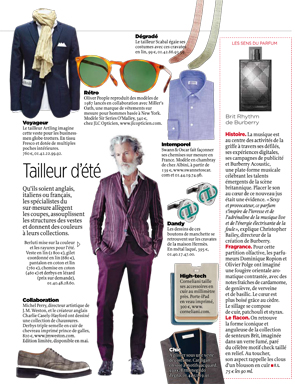 Article Le Point - Timeless shirts