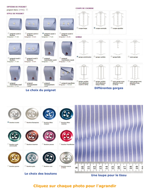 Magazine Souliers.net - Test Chemise sur mesure Swann & Oscar