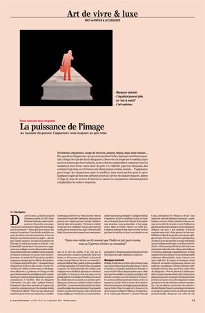 Newspaper Nouvel Economiste - Vêtements et Style