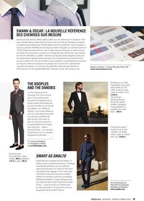 Magazine Decideurs - Made-to-Measure