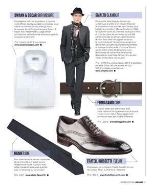 Magazine Dreamer - White Tuxedo Shirt