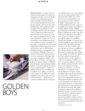 Oui Magazine - Golden Boys